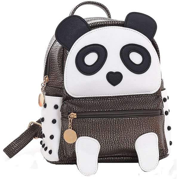 Cute Panda Bear Backpack for Girls