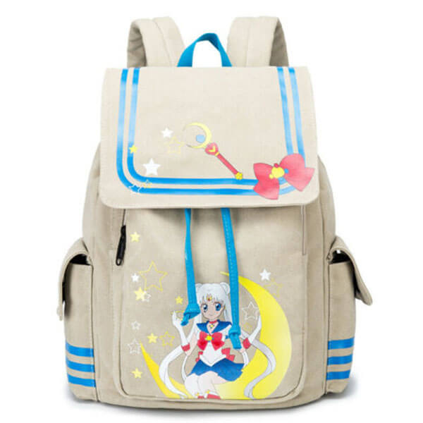 High-Quality Fabric Sailor Moon Backpack