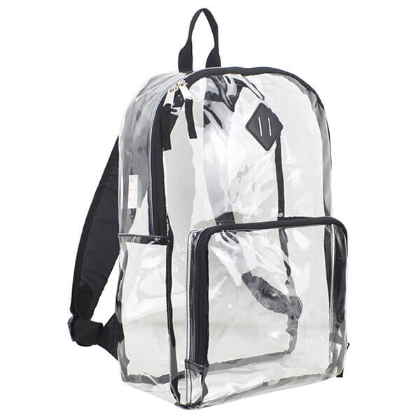 Multi-Purpose Transparent Backpack with Lash Tab