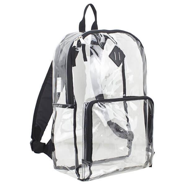 Multi-Purpose Transparent Backpack with Lash Tab