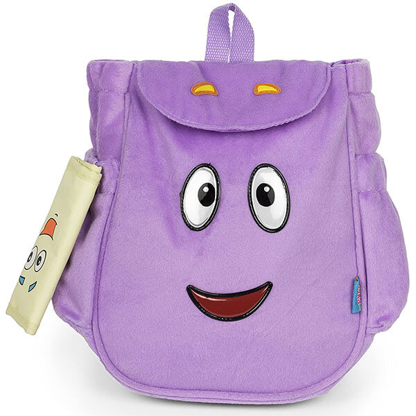 Purple Dora Backpack With Adventure Map