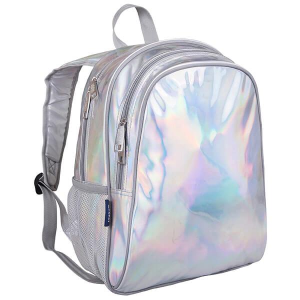 Silver Moisture-resistant Book Bag
