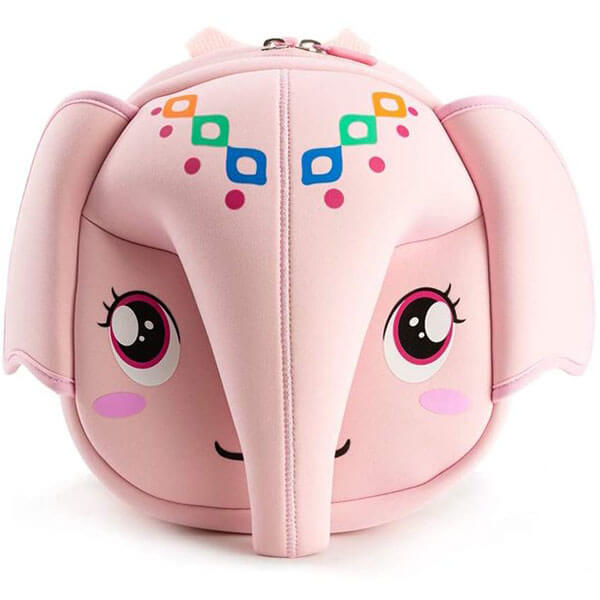 Soft Cosplay Backpack in Elephant Head Design