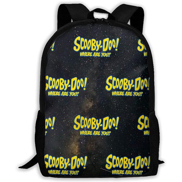 Black Base Yellow Scooby-Doo Backpack