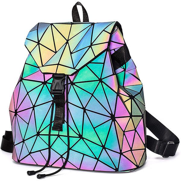 Lumikay Rainbow Reflective Backpack