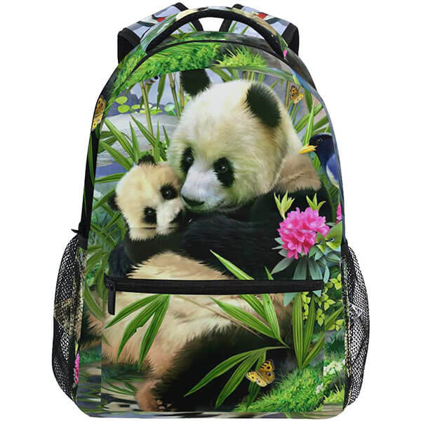 Trendy-Outdoor Panda Bear Backpack
