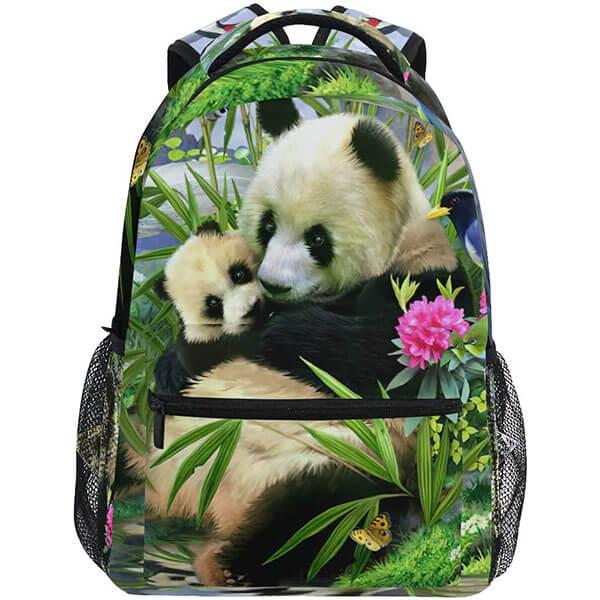 Trendy-Outdoor Panda Bear Backpack