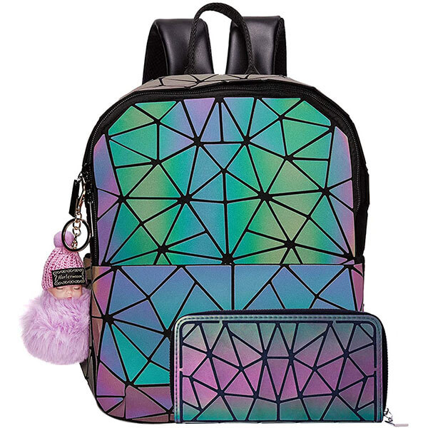 Crissy Body Girls' Backpack with Hand Purse