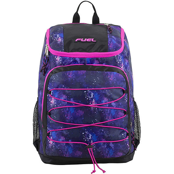 Front Bungee Sport Backpack For Teenagers