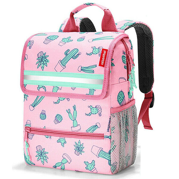 Polyester Pink Cactus Toddlers Backpack