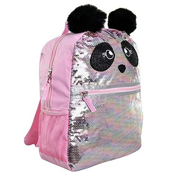 Shiny Sequence Kids Panda Backpack
