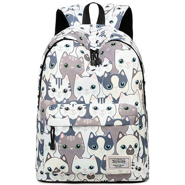 Teenagers Leisure Anti-Scratch Cat Backpack