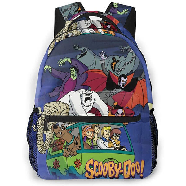 The Ghost Print Scooby Doo Backpack