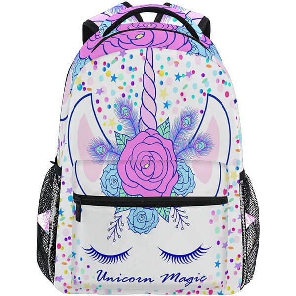 Unicorn School Rose Backpack for Youth