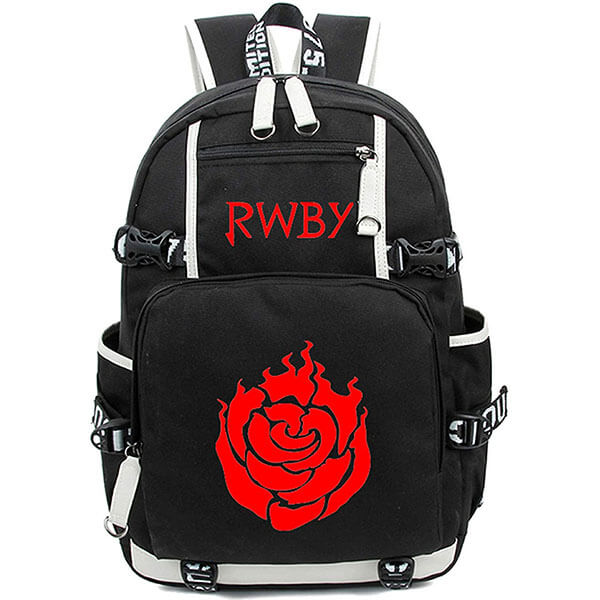 Anime Designed Rose Backpack for Students