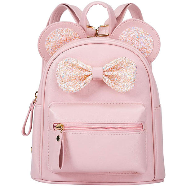 Cutest Bow Mouse Ears Toddlers Mini Backpack