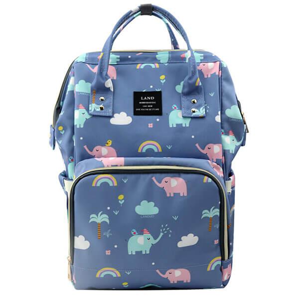 Grade Schooler Elephant Clouds Backpack