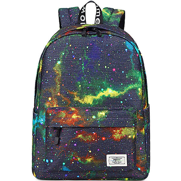 Mysterious and Colorful Universe Backpack