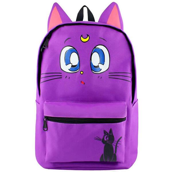 Violet color Sailor Moon Backpack