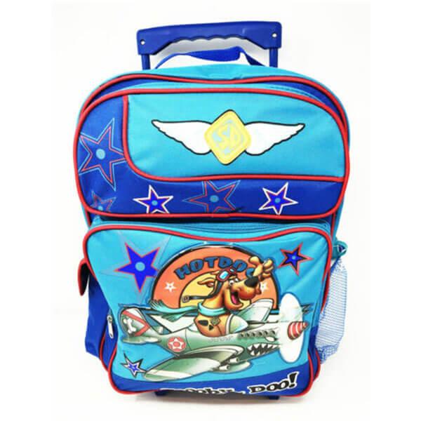 Grade Schooler Flying Scooby Rolling Backpack