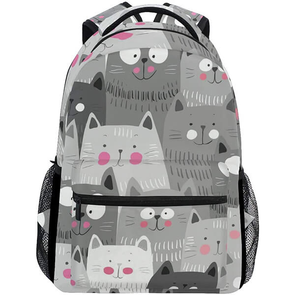 Hiking Camping Anti-theft Cat College Backpack