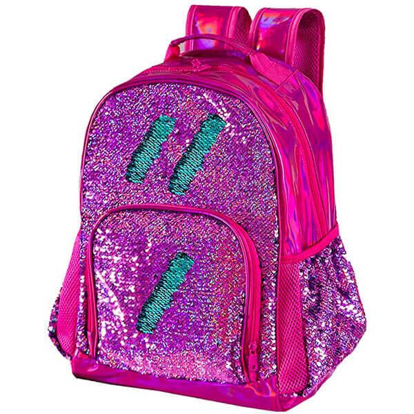 Hologram Color Changing Sequin Backpack