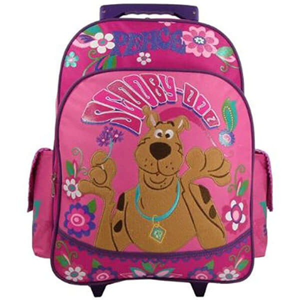 Pink Roller Love Scooby-Doo Backpack