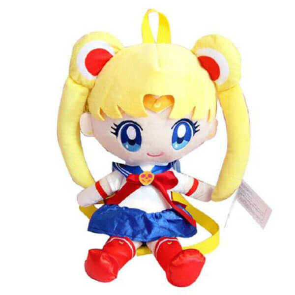 Plush material Sailor Moon Backpack