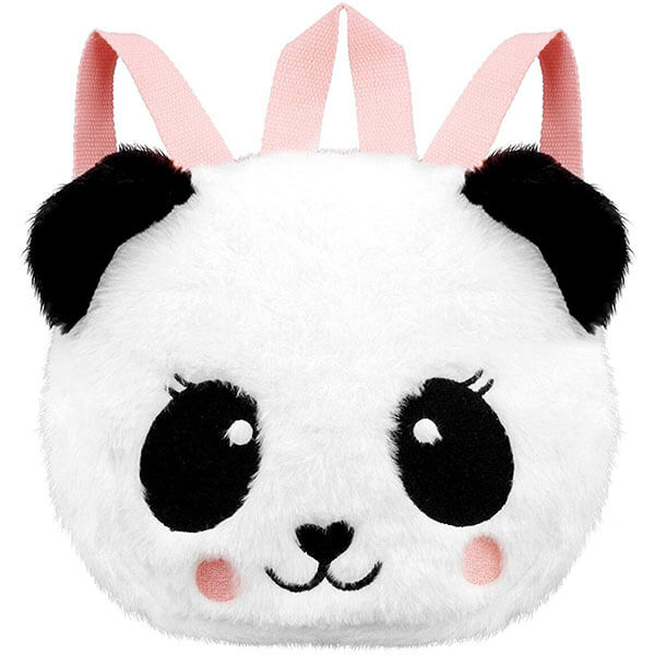 Super Soft Panda Bear Backpack for Toddlers