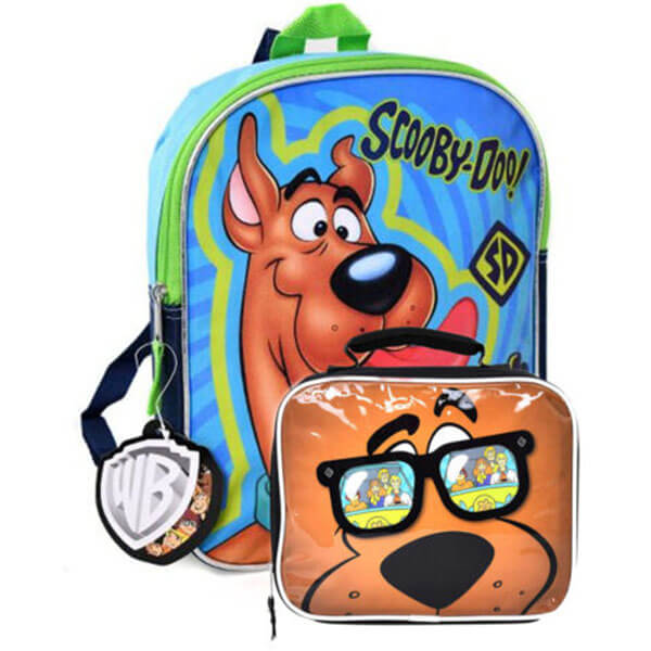 Classic Scooby Backpack with Lunch Bag