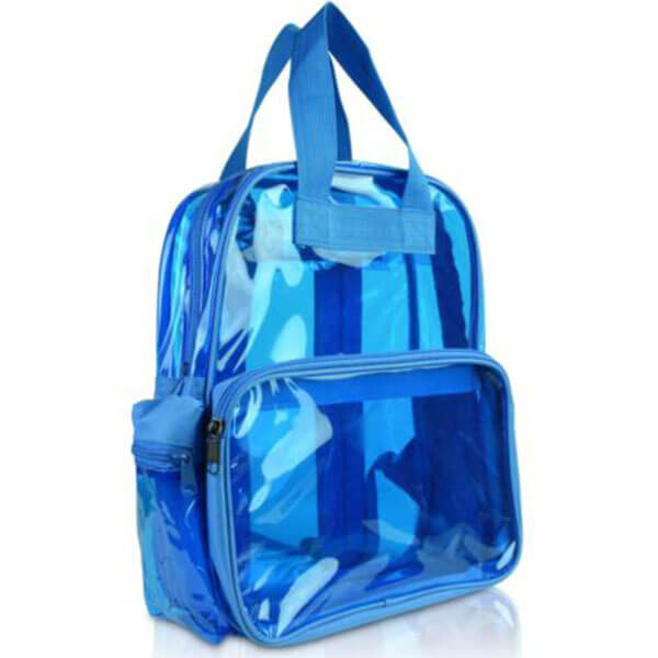 Colorful Neon Clear Backpack for Girls