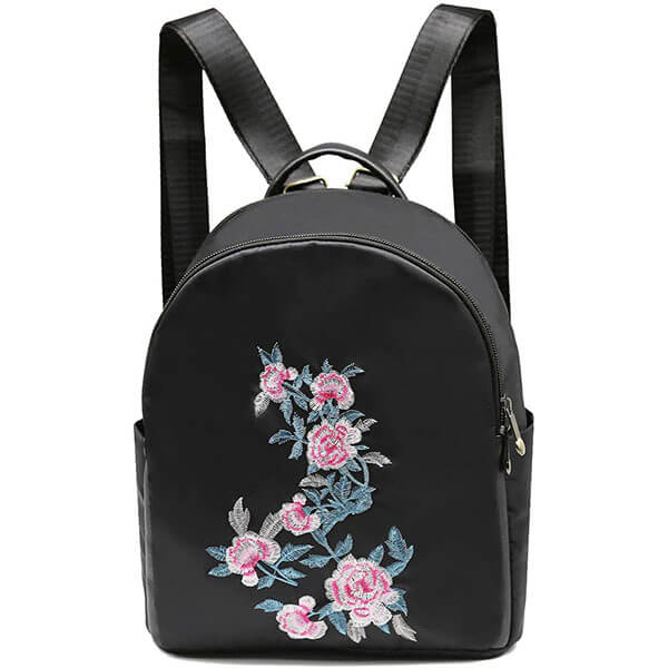 Waterproof Mini Rose Bookbag for Girls