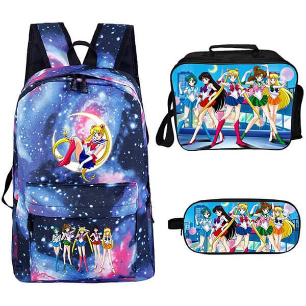 Blue Base High-Quality Sailor Moon Backpack