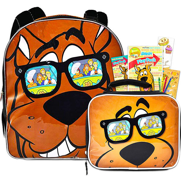 Cool Scooby Doo Bookbag and Lunch Bag