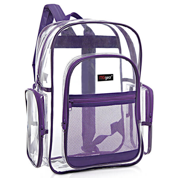 Multi-pockets Outdoor PVC Backpack