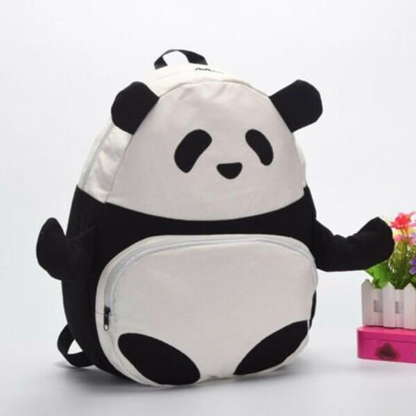Pretty Panda Bear Backpack for Youngsters