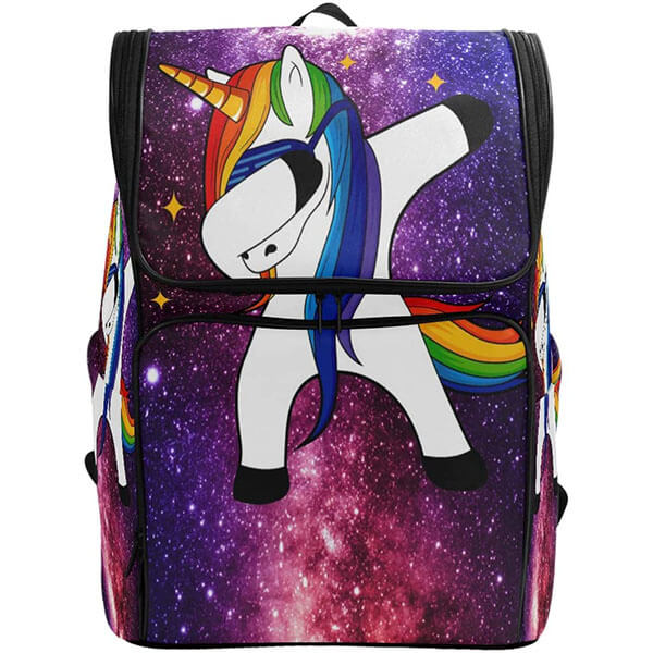 Unicorn Space Galaxy Backpack For Youngsters