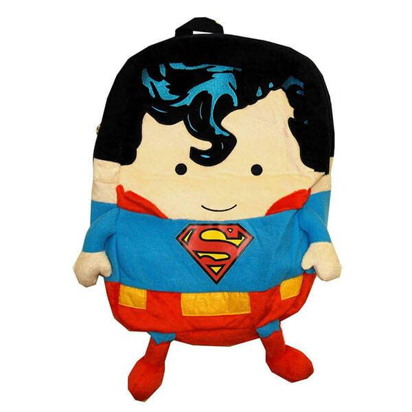 Handsome Superhero Square Cartoon Backpack