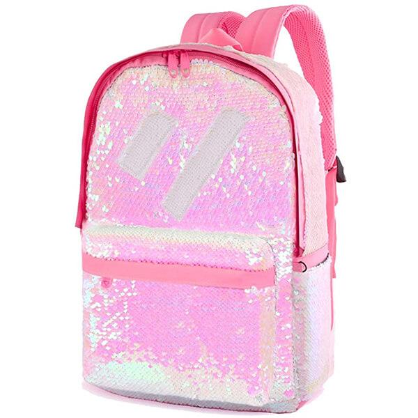 Outdoor Travel Laptop Girls Sequin Backpack