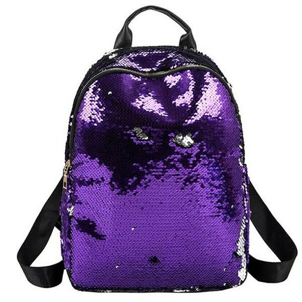 Glitter Grade Schooler Sequin Bookbag