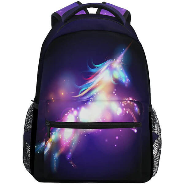 Magical Cartoon Horse Student Backpack