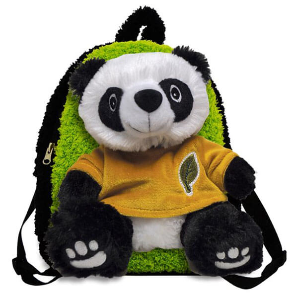 Rugged Panda Bear Backpack for Toddlers