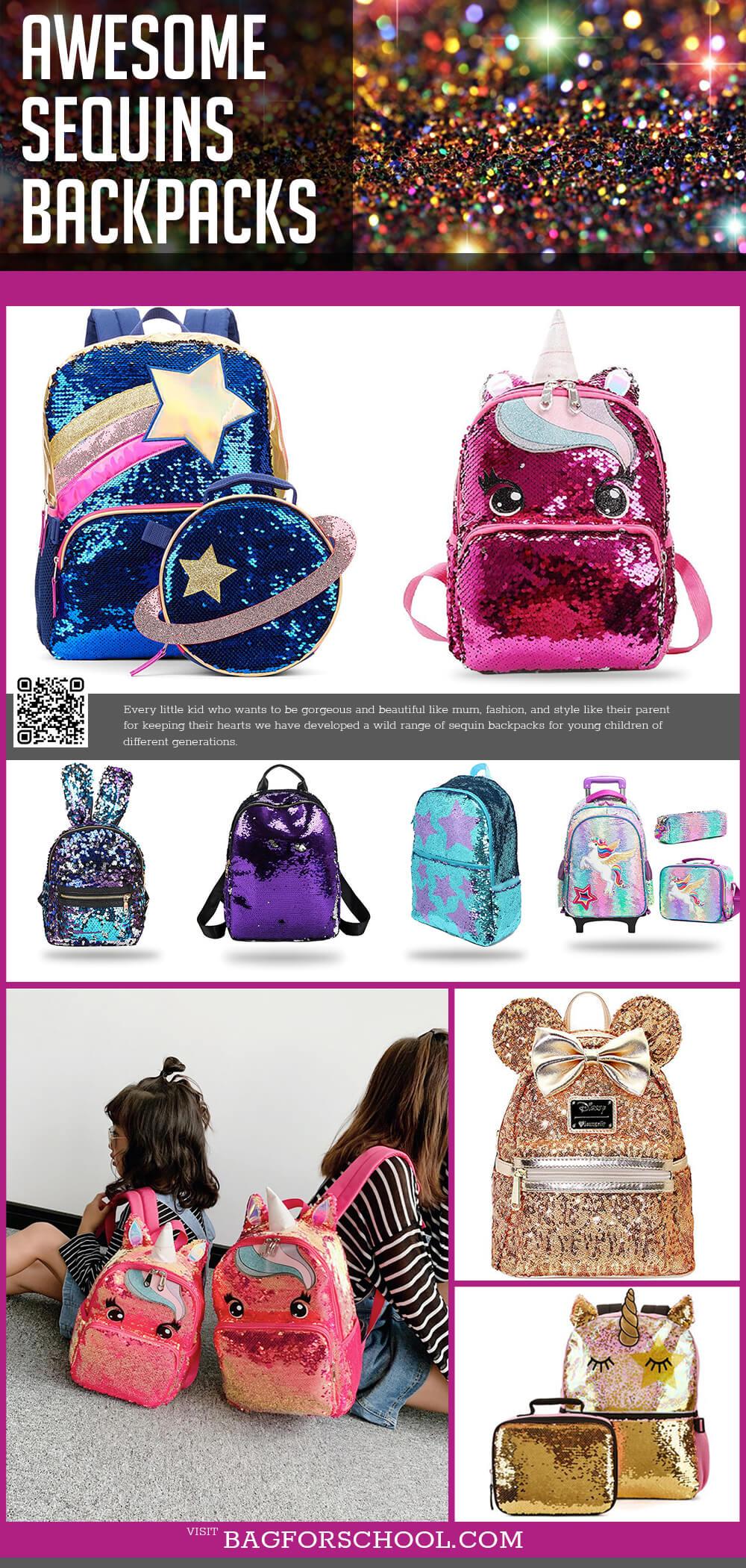 Sequins Backpacks