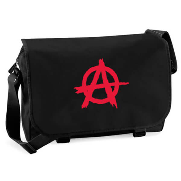 Anarchy A Symbolized Messenger Bag