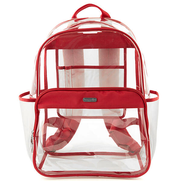 Large Clear Event Compliant Backpack