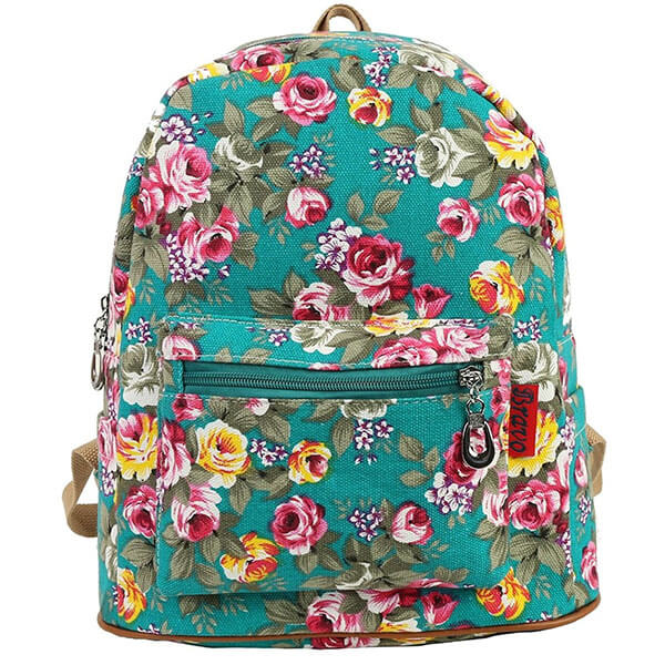 Medium Shoulder Rose Backpack for Youth