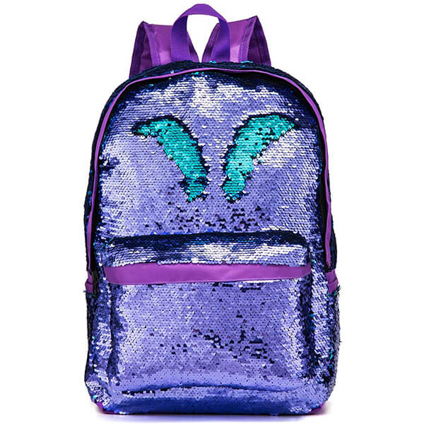 High-Capacity Color Changing Sequin Backpack