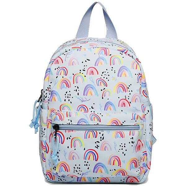 Rainbow Art Mini Backpack for Girls