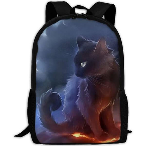 Warrior Cat Travel Laptop Backpack