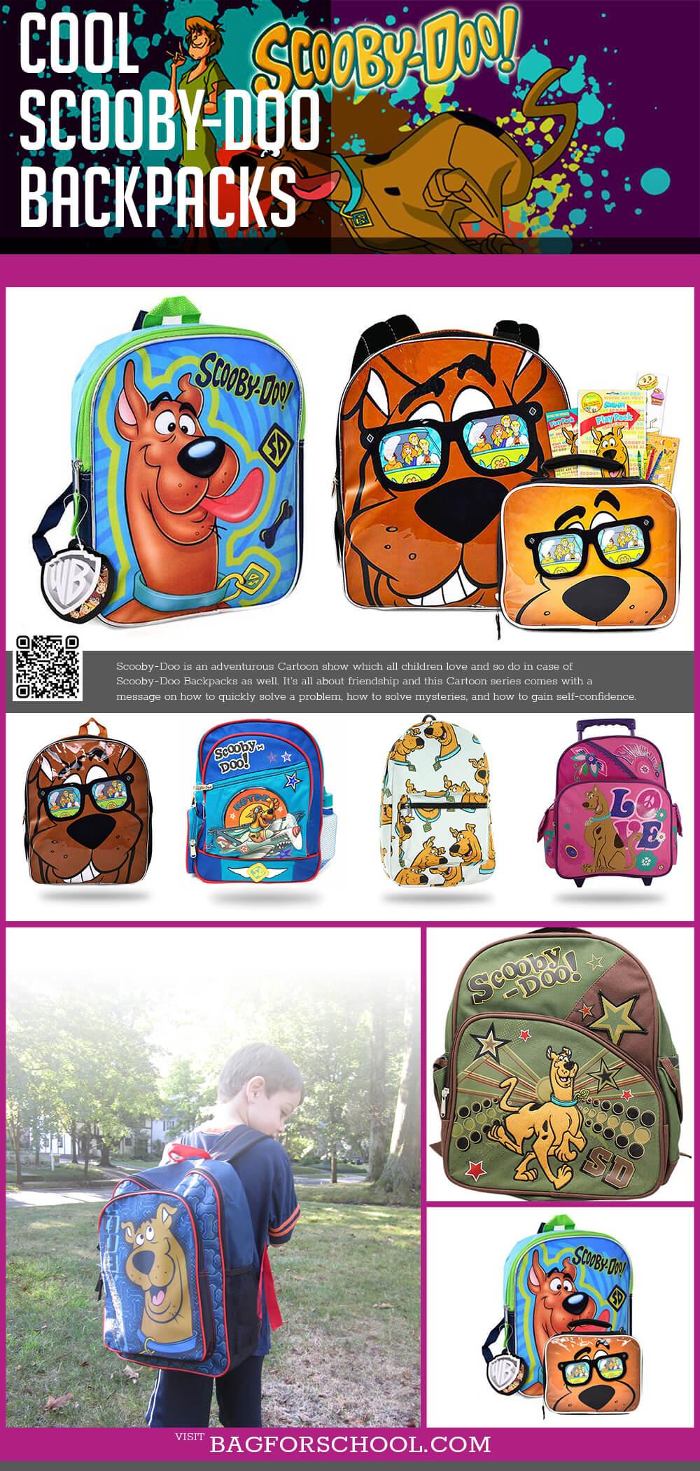 Scooby-Doo Backpacks